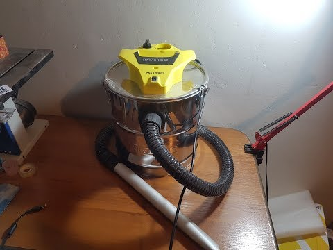 Parkside Tools Parkside vacuum cleaner PAS 1200 C2 unboxing and test