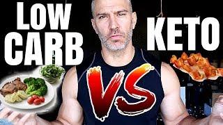 Low Carb Diet VS. Ketogenic Diet