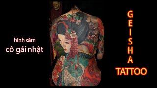 BST Hình Xăm Geisha Và Ý Nghĩa I Geisha Tattoo