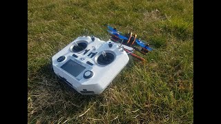 1st fpv Quad flight