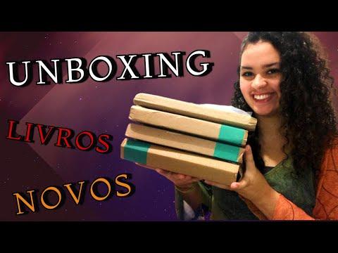 UNBOXING DE LIVROS !! | Vivendo Mil Vidas