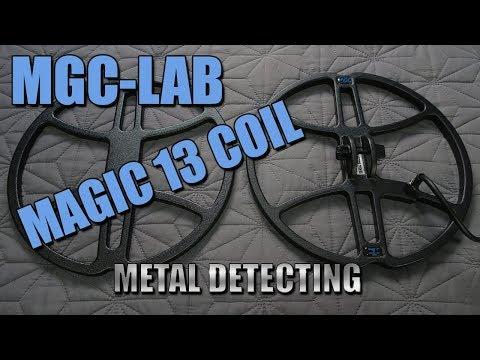 Metal Detecting:  Magic 13 Inch Coil Review - Teknetics G2+