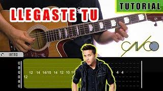 Cómo Tocar Llegaste Tu De CNCO, Prince Royce En Guitarra | Tutorial + PDF GRATIS