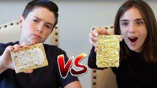 GOLD FOOD vs REAL FOOD!!