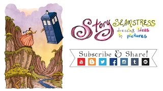 Dr. Who Came From The Stars (Fandom Mashup Speed Drawing!)
