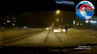 Новокузнецк. Автомобильная авария. Кто виновен в ДТП?