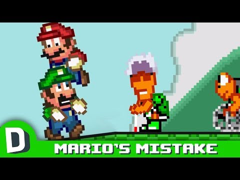 Mario to podělal