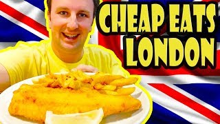Top 10 Best Cheap Eats in London Under £10
