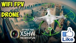 Квадрокоптер Syma X5HW WIFI FPV с камерой, летаем, тестируем, мнения и выводы