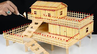 INCREDIBLE MATCHSTICK CRAFTS