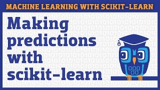 Training a machine learning model with scikit-learn