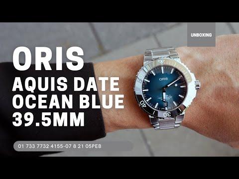Oris Aquis Date 39.50 mm 01 733 7732 4155-07 8 21 05PEB