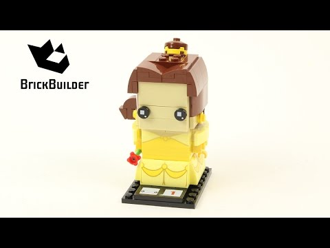 Vidéo LEGO BrickHeadz 41595 : Belle