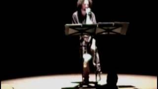 Stockhausen- Solo für Melodieinstrument und Rückkoplung; Jason Alder, bass clarinet part 1/2