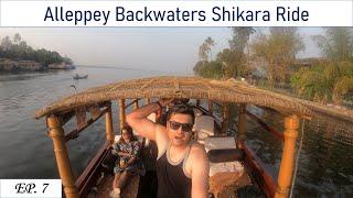 Alleppey Shikara Ride/ Alappuzha Backwaters Houseboat/ Shikara Rental Price