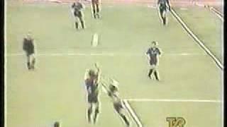 Ancelotti goleador con la Roma anni '80 (TVR Voxson)
