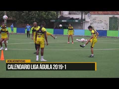 Calendario liga aguila 2019-1