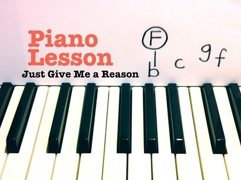 Just Give Me A Reason- Piano Lesson- Pink Ft Nate Ruess (Todd Downing) Mp3