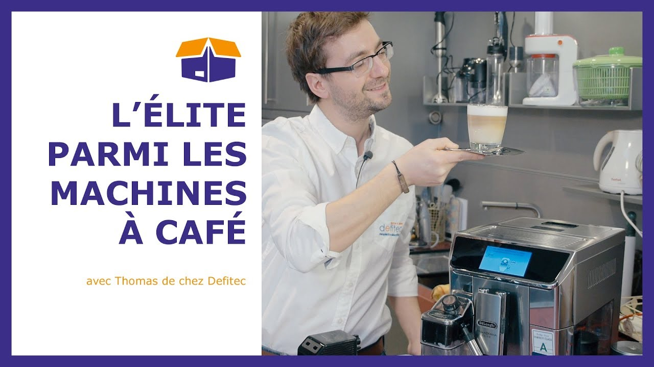 Machine à café Delonghi PrimaDonna Elite ECAM650.75.MS - Defitec