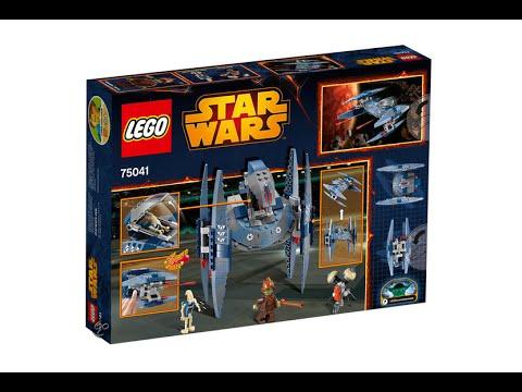 Vidéo LEGO Star Wars 75041 : Droïde Vautour