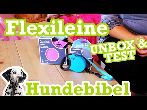 Was taugt die Flexileine? Unboxing & Test - Wir vergleichen!
