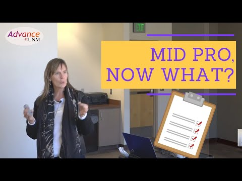 Advance at UNM presents: Mid Pro, Now What?