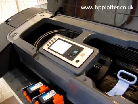 HP Designjet Z3200 printer Instalacion y configuracion.