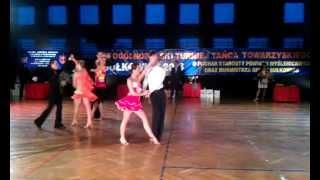 preview picture of video 'Rumba, pow.15, klasa E, Turniej Tańca, Sułkowice 03.02.2013'