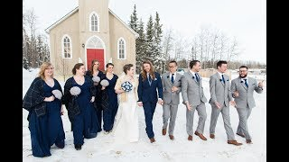 Calgary Wedding Photographer: Water Valley Events Centre and Triwood Community Hall