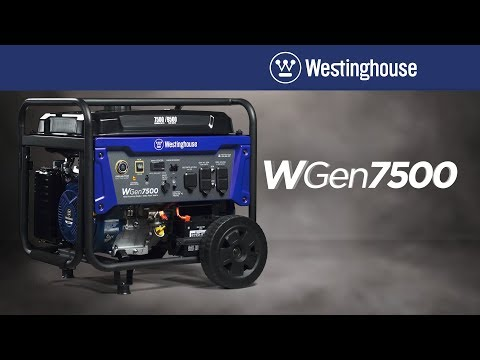 2019 Westinghouse WGen7500 in Unity, Maine