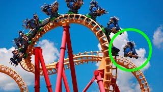 10 CRAZIEST Things That Happened At Theme Parks!