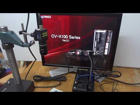 CV-X Machine Vision System: EtherNet/IP Setup on the Controller