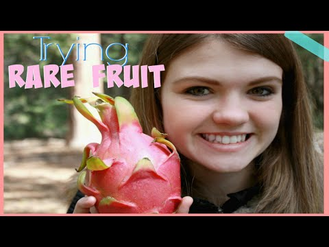 Trying Exotic Fruits!