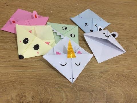 Video Mp3 Sensational Origami Cat Corner Bookmark Newest Top