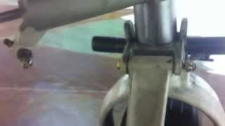 Cessna nose wheel shimmy repair