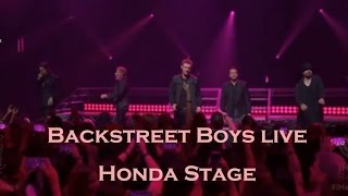 Backstreet Boys Honda Stage Live at iHeartRadio Concert 2016