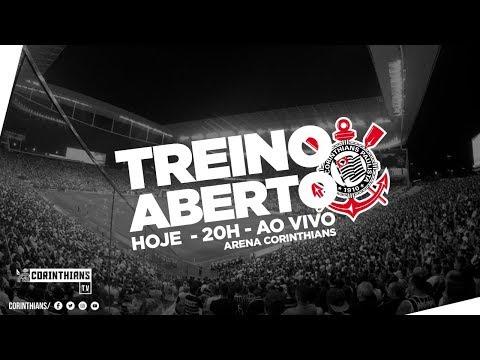 AO VIVO - Treino na Arena Corinthians