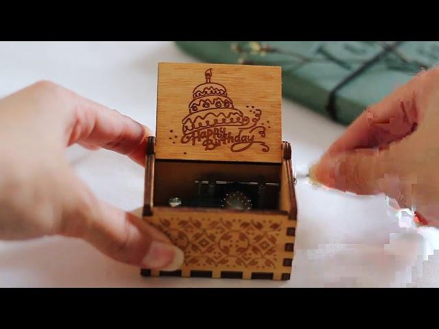 صندوق موسيقى لموسيقى Happy Birthday طريقة تشغيل صندوق الموسيقى متجر