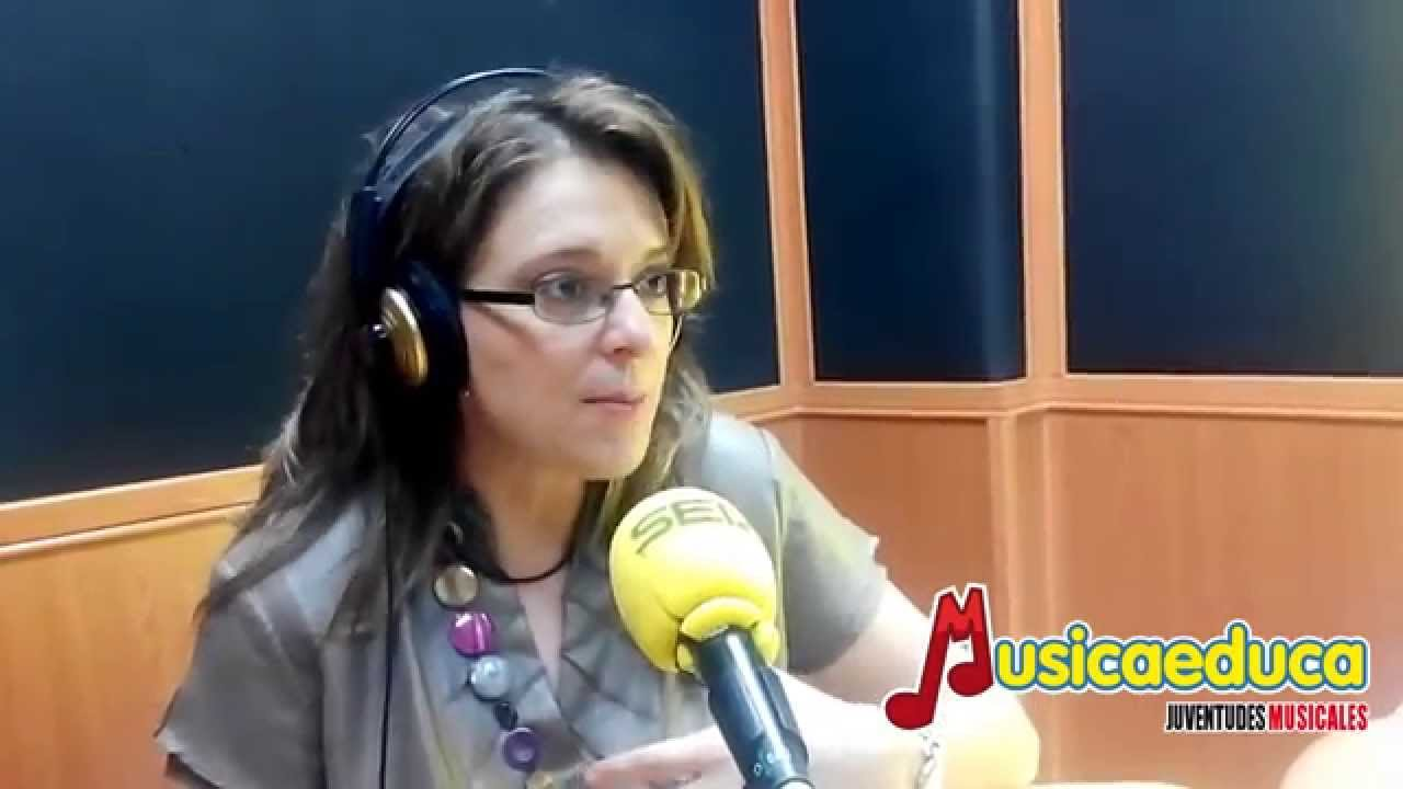 Sobre los métodos de Musicaeduca - Eva Alonso en SER radio