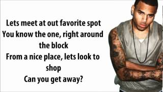 Nicki Minaj (feat. Chris Brown) - Right By My Side Lyrics Video
