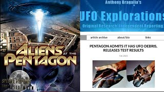 WHAT THE HECK? Pentagon Admits IT Has UFO DEBRIS From Roswell New Mexico! 2021