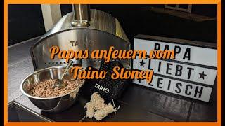 Papas anfeuern vom TAINO Stoney Pizzaofen