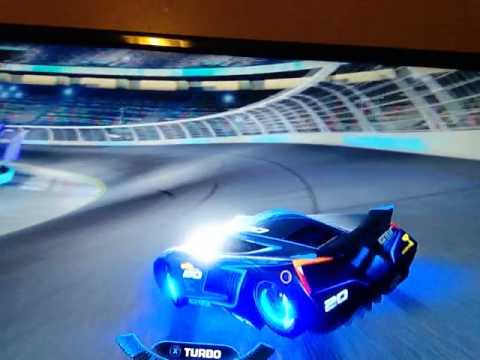 Having A Good Time Playing Cars 3