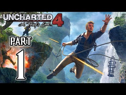 Uncharted 4: A Thief's End Walkthrough PART 1 Gameplay (PS4) No Commentary @ 1080p HD ✔