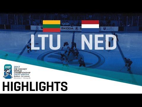 Lithuania - Netherlands | Highlights | 2017 IIHF Ice Hockey World Championship Division I Group B