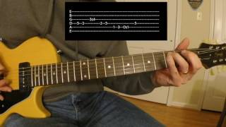 Breakdown Dead Ahead Guitar Solo Lesson