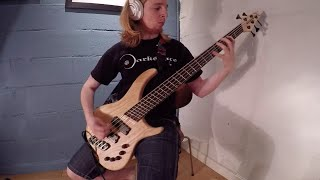 Dissection - Night's Blood (Bass cover by Dino)