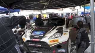 preview picture of video 'Hayden Paddon GEKO Ypres Rally Review'