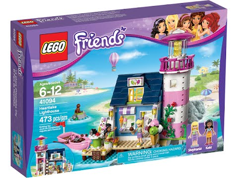 Vidéo LEGO Friends 41094 : Le phare d'Heartlake City