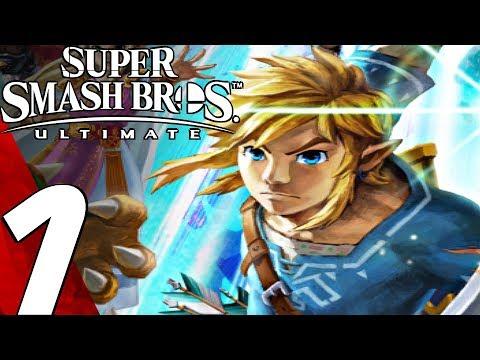 Super Smash Bros Ultimate – Gameplay Walkthrough Part 1 – Story Mode (World of Light) Switch